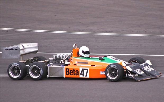 lelijke formule 1 auto