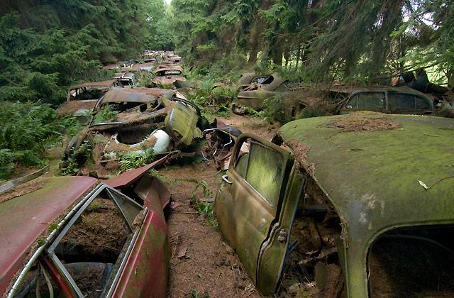 overwoekerde auto's